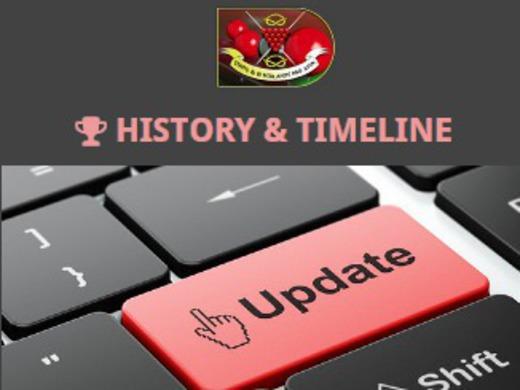 HISTORY & IMAGE UPDATES