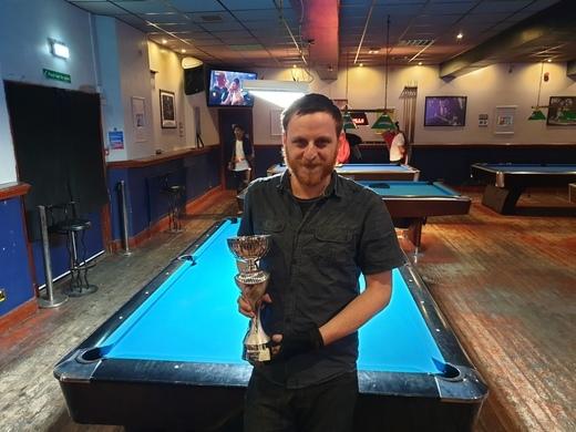 Mick Walkerdine cup winner winter 2019 Jack Pegg