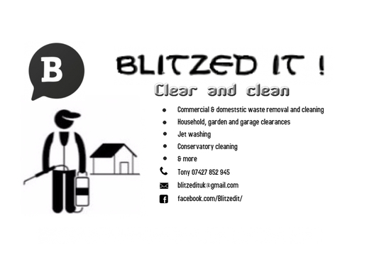 Rubbish & waste removal, jet washing, conservatory cleaning etc.
