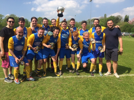Maccabi Yellow lift the Tony Cohen Trophy whilst Haroldeans lose out narrowly in National Cup Final