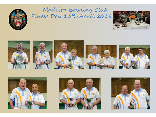 Club Finals - 13th April, 2019