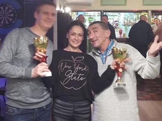 Cathy Gardiner Doubles Winners - TONY SULLIVAN & CHRIS HOOD