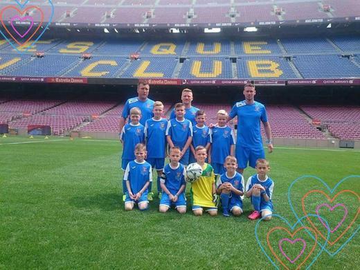 Under 9s Camp Nou