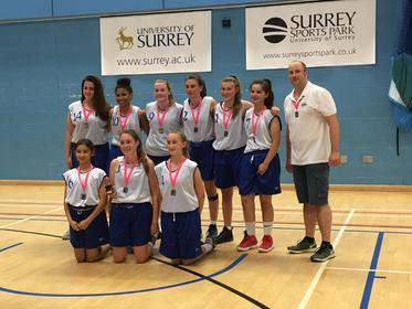 U15 Girls Winners Surrey A