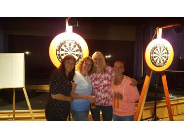 Ladies round the board pairs winners and runners up