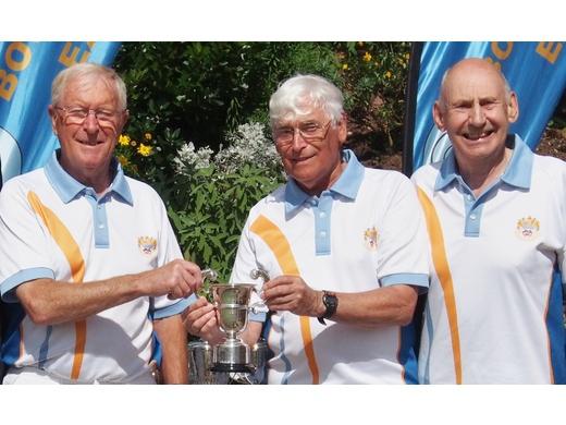 Mike Boman, John Relph & Colin Shaw - Men's Triples Winners 2017