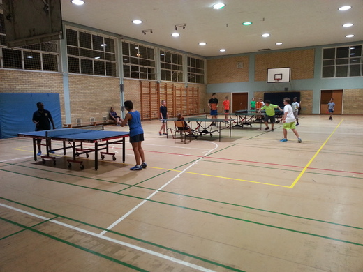 Coaching session in progress at the DHPS
