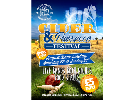August Bank Holiday Cider & Prosecco Festival