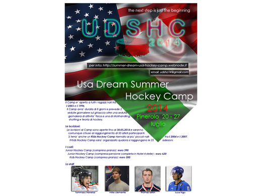 Un po' di America per l'hockey italiano