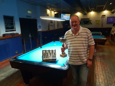 Division 1 Winner Summer 2018, Ian Welch