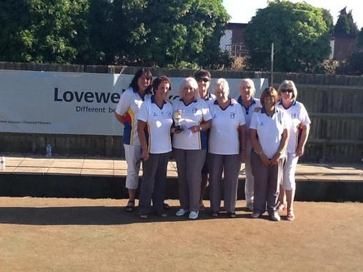 Gorleston Links are  2018 Champions of the ladies section