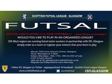 SFA west region / SFL Glasgow