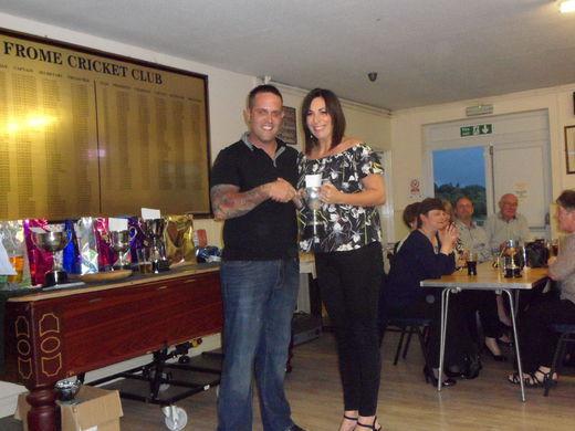 Lisa Miles - captains cup winner