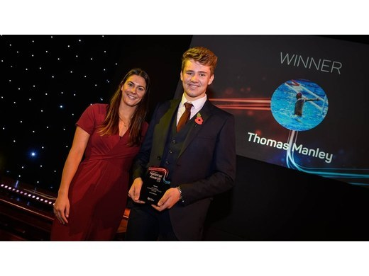 Thomas Manley wins national award