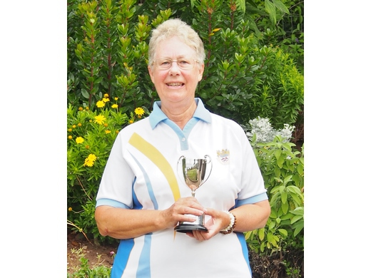 Jacky Howle - Two wood Singles winner 2017