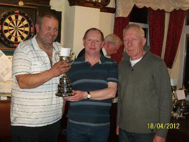 John Crowther & Jim Alcock Doubles KO Runners Up