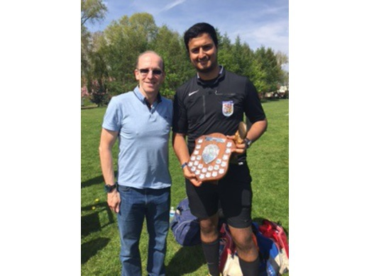 2015-16 MJSL Referee of the Year - Behnam Sarani