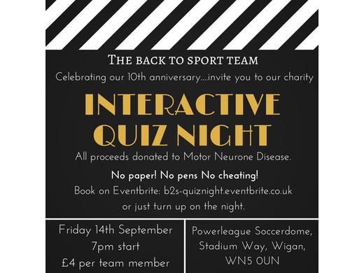Charity Interactive Quiz Night