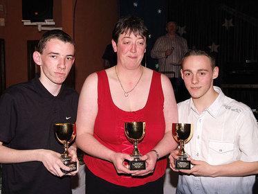 Jonathan Jones Nicola Owen Andrew Hughes Special Achievement Award