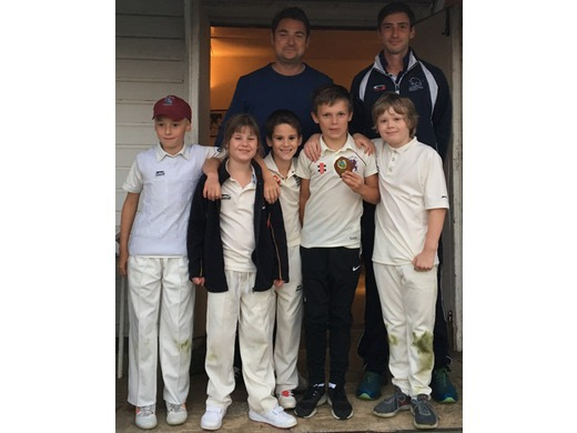 Some of the all-conquering Kwik Cricketers