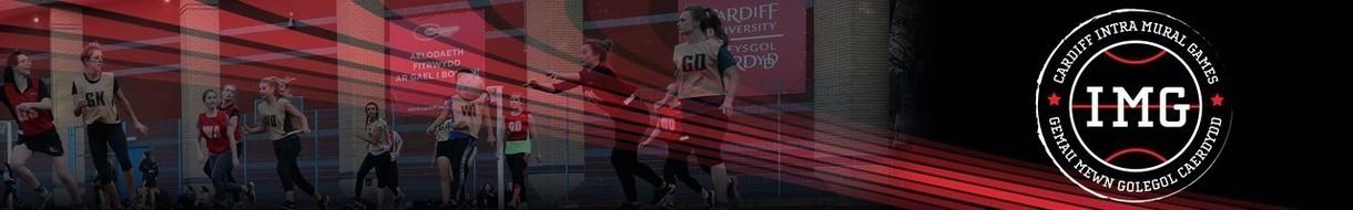 Cardiff University IMG Netball