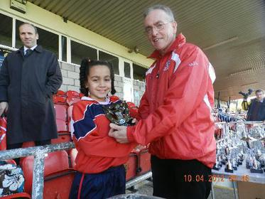 Lauren Egbuloniu, Player of the Match U12 Evening Echo Cup