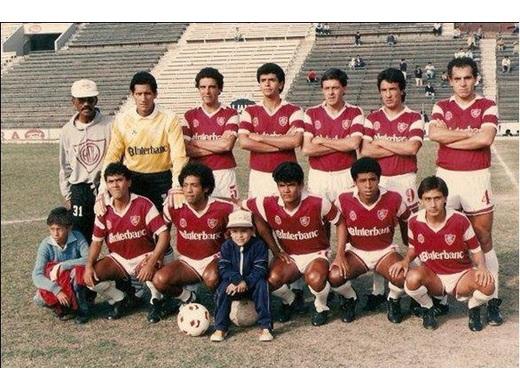 Campeón Copa Plácido Galindo 1989.