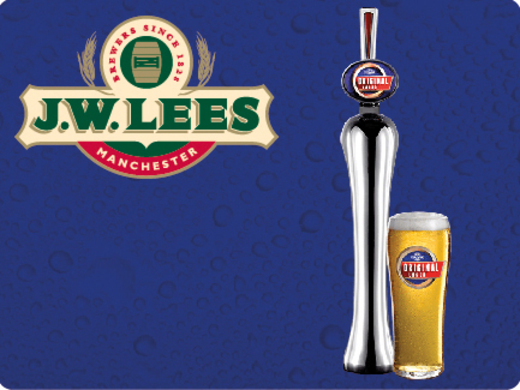 Original Lager, the best combination of taste and value.