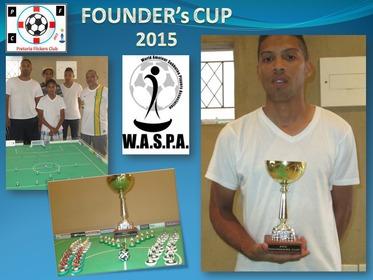 2015 Founder's Cup Winner : Kegan vd Merwe