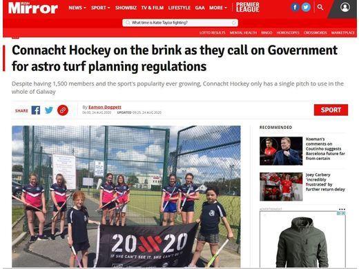 Misneach Le Cheile Getting National Coverage