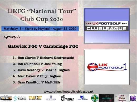 Match Day 3 in UK National Tour Cup