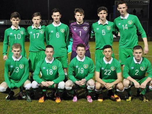 Darren Kavanagh U18 Ireland International
