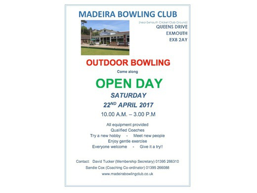 Outdoor bowling - OPEN DAY
