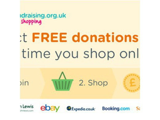 Shop online and raise funds