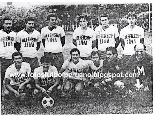 Tercer lugar Primera División 1971.