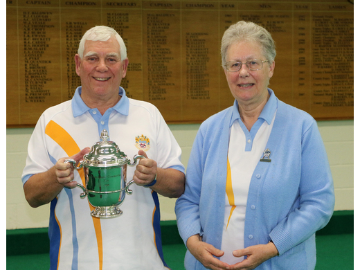 Graham Clarkson - Mens Singles winner - 2019