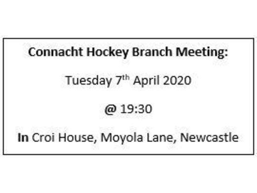 April Branch Meeting