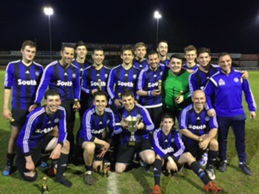 2015-16 South Manchester 2nd - Feldman Trophy Winners