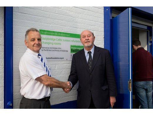 Refurbished Soccer Centre Opens