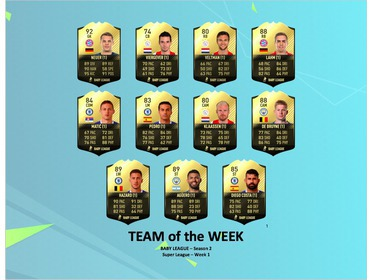 Season 2 - Super League - TOTW 1