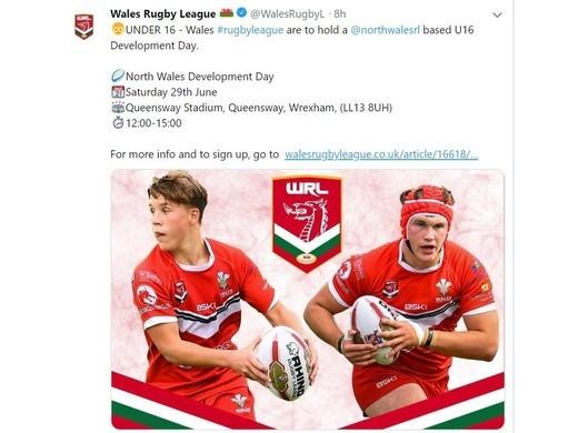 Wales RL U15s and U16s