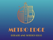 Metro Edge Debate and Speech Club - Preparing Students to compete in NCFCA - Club Logo