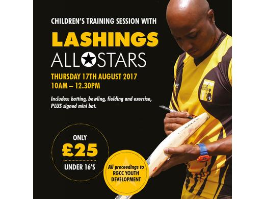 Lashing International to coach juniors at Roe Green CC