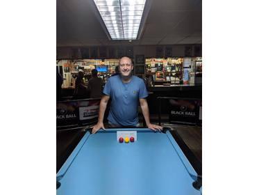Steve Wall SPH Singles League KO Winner 2017/18