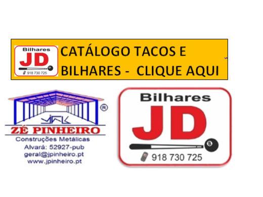 CATALOGO DE TACOS E BILHARES