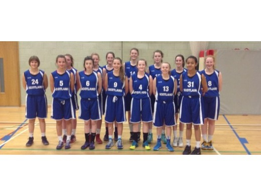 Our Scotland U14 Girls!