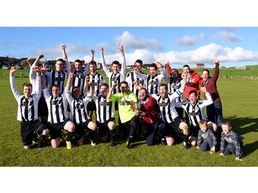 Stromness celebrate another cup