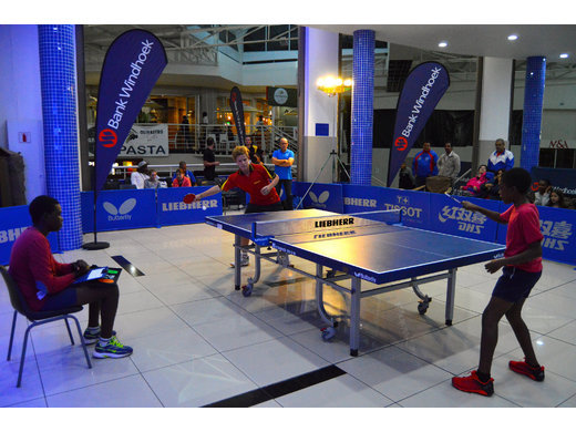 First Bank Windhoek Table Tennis Junior Masters Cup hugely successful
