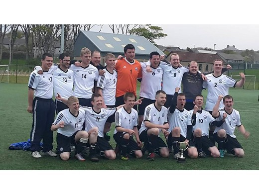 Isles United Secure first silverware