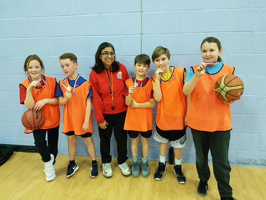 What a Fantastic First East Grinstead Primary School Basketball Tournament